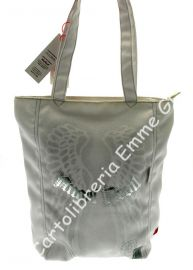 BORSA SHOPPER ANGEL DEVIL 40132 BIANCO