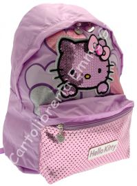 ZAINO HELLO KITTY AMERICANO CHIC 36033 LILLA