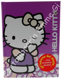 DIARIO HELLO KITTY PAPILLON POCKET Cartonato (cm.12,5x17) 12 MESI 36143 VIOLA