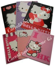 QUADERNO MAXI HELLO KITTY LOVE 32263 RIG. 1R