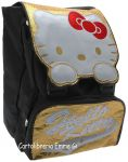 ZAINO HELLO KITTY ESTENSIBILE SHINE 38935 ORO