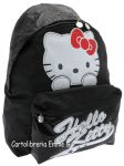 ZAINO AMERICANO HELLO KITTY SHINE 38997 NERO