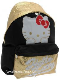 ZAINO AMERICANO HELLO KITTY SHINE 39017 ORO