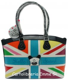 BORSA HELLO SPANK MAXI BAG ANNARITA MULTICOLOR 15448