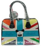 BORSA HELLO SPANK BAULETTO CLOTILDE MULTICOLOR 15450
