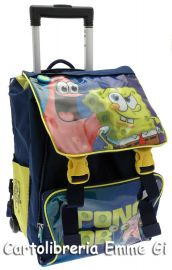ZAINO TROLLEY SPONGEBOB ESTENSIBILE 40778