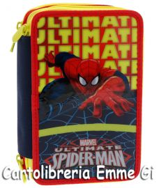 ASTUCCIO TRIPLO SPIDERMAN ULTIMATE 18637