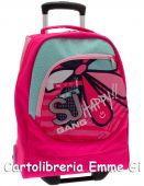 ZAINO TROLLEY SEVEN BIG SJ GIRL 22213 FUXIA